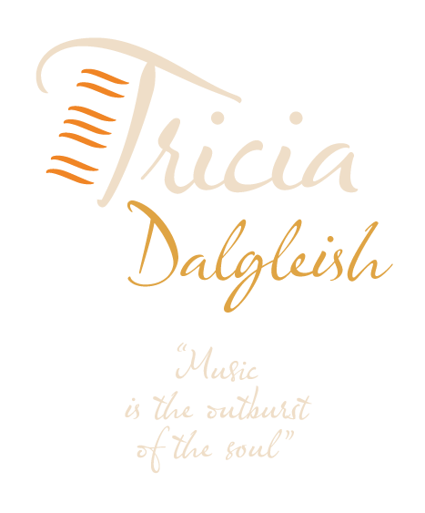 Patricia Dalgeish playing piano
